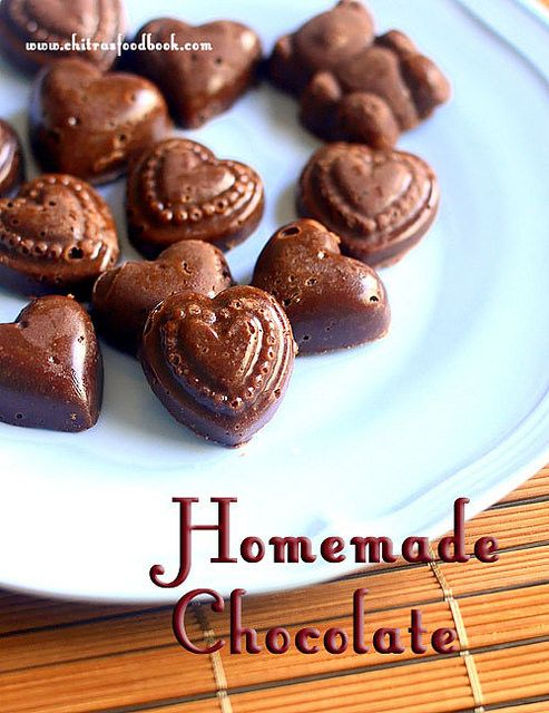 How To Make Chocolate At Home Without Coconut Oil Homemade Chocolate Recipe With Cocoa Powder Recipe Chocolate Recipes Chocolate Recipes Easy Homemade Chocolate