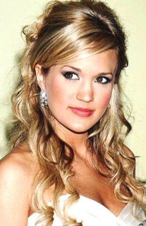 Bridesmaid Hairstyles For Long Hair... This Is In The Running. Curly Homecoming  HairstylesCute School ...