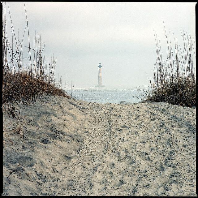 Pawleys Island Beach: Morris Island, Lighthouse, Folly