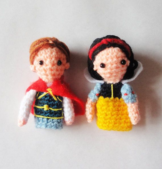 Finger Puppets Snow White And The Seven Dwarfs Títeres De