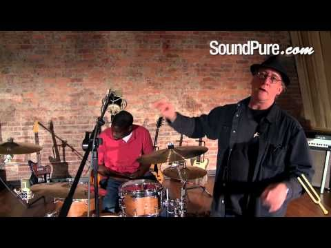Glyn Johns Technique - How to Mic a Drum Kit with Three Lauten Microphones - YouTube