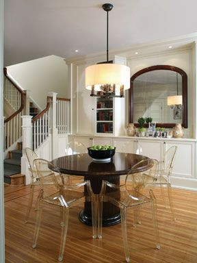 ghost chairs dining room | Classic dining room with Louis Ghost Chairs | Inspiration ...