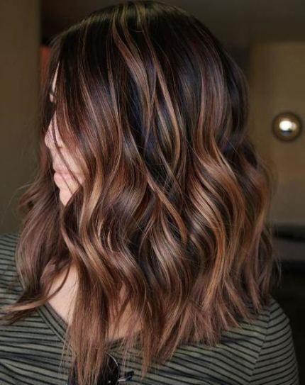 Hair Highlights Caramel Balayage Hairstyles 47 Ideas For 2019 #caramelbalayage