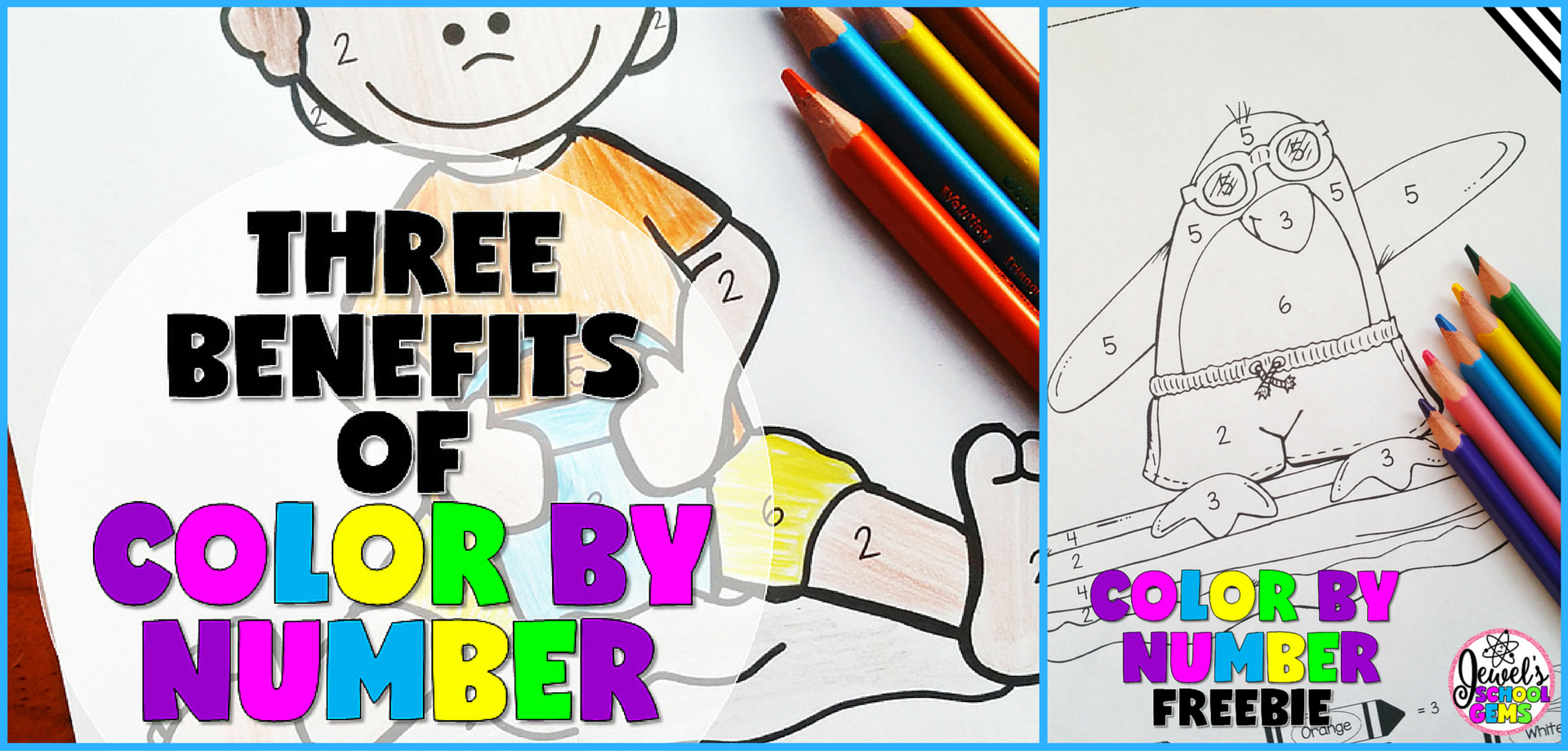 3 Benefits Of Color By Number Free Coloring Sheets