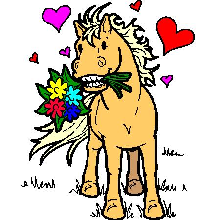 Coloriage cheval de cirque a imprimer dessin colorier et - Dessin cheval a imprimer ...