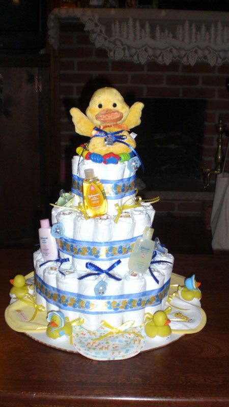 Rubber Ducky Diaper Cake Pictures Ideas With Images Rubber
