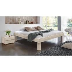 Photo of Futon bed / solid wood bed solid pine solid walnut A10, including slatted frame – dimensions 140 x – https://bingefashion.com/home