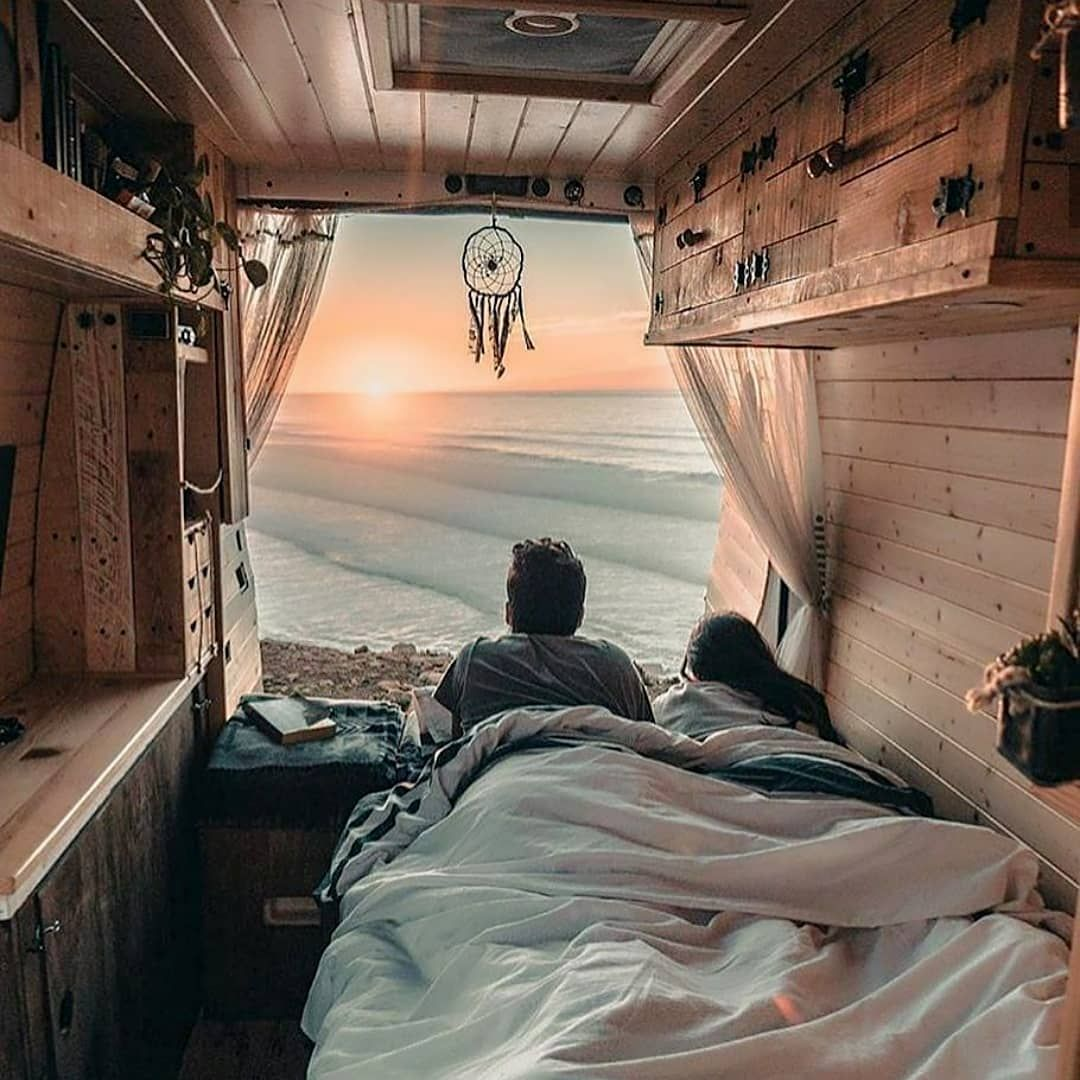 Pin by Lovers Bud on Cute Couples on Vacation   Van life ...