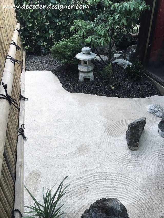Dise o de jardines japoneses costa rica servicios de dise o construcci n de jardines estilo - Arena para jardin zen ...
