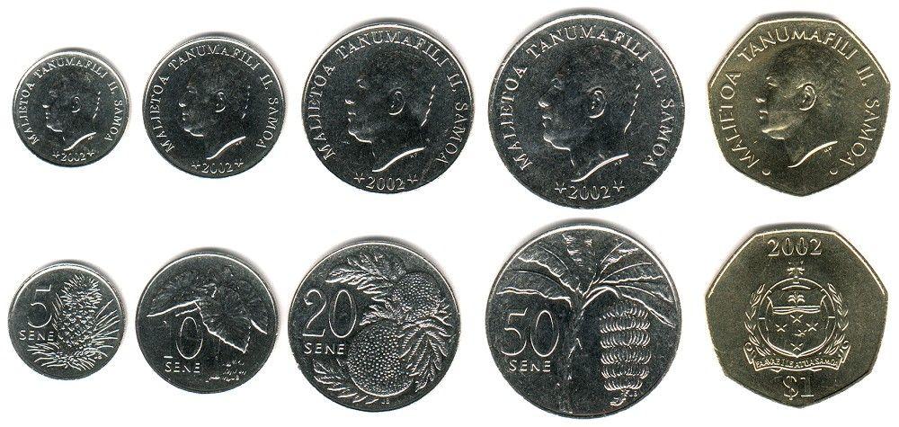 Samoan Tala World Coins Coins World