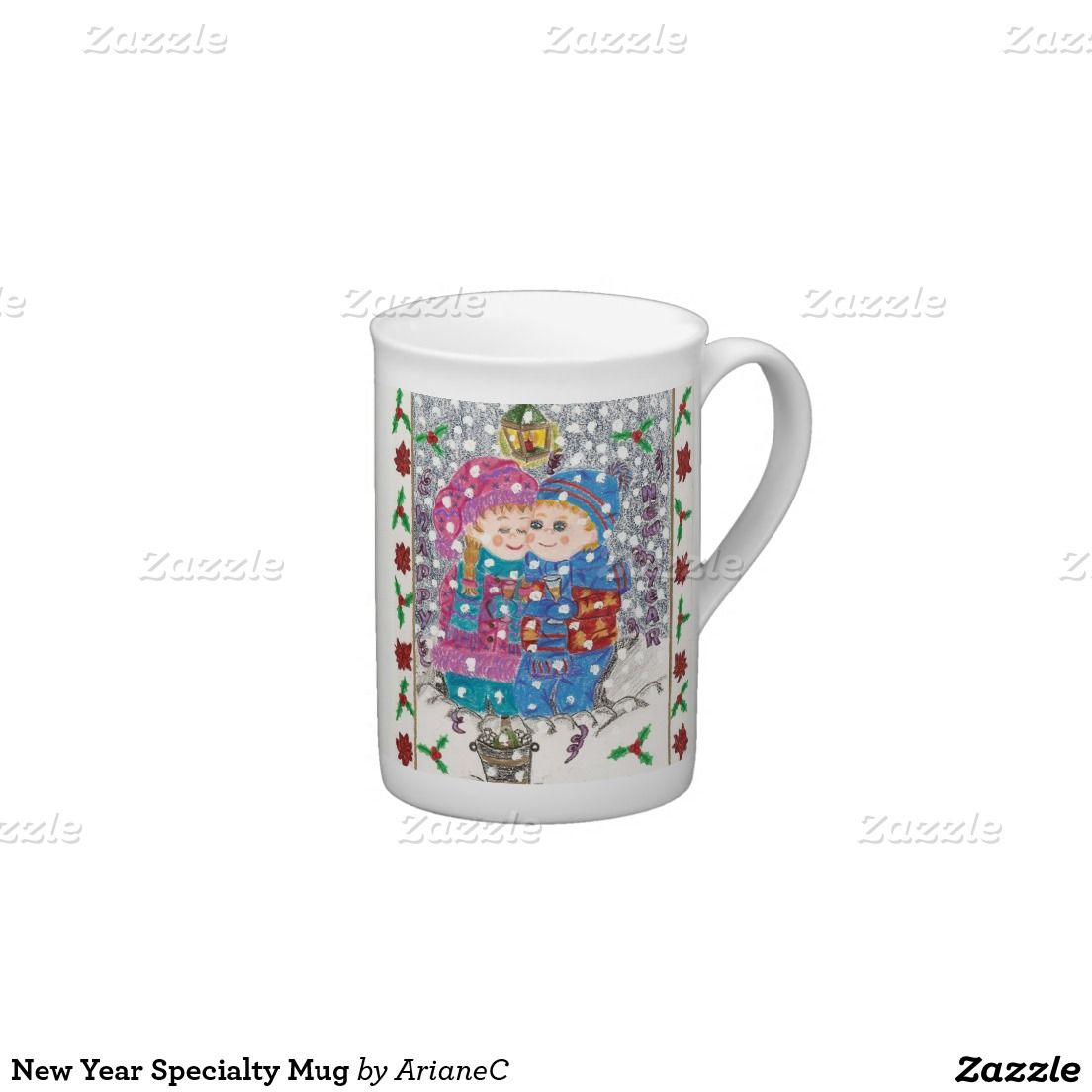 New Year Specialty Mug designed by ArianeC .  #teacup