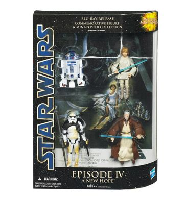 Figure And Mini Poster Collection Episode Iv Star Wars Dvd Episode Iv Star Wars Episodes