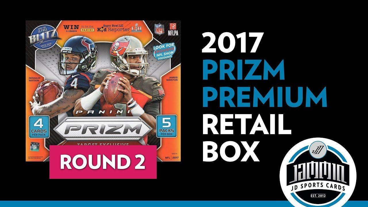 Round 2 2017 Prizm Football Target Exclusive Premium Box