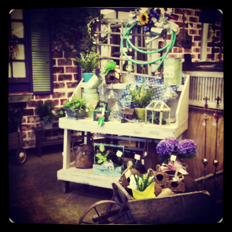 #flowershop #vintage # flowers #weddings #birdhouse # springtime#chesterland #ohio#garden#watering can