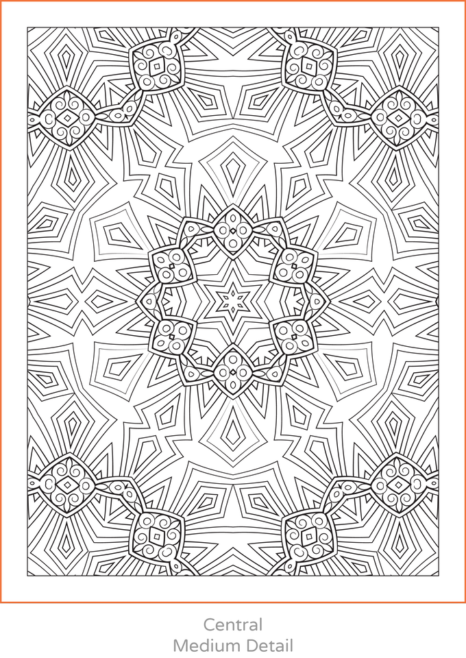 The World S Biggest Coloring Book By The World S Biggest Coloring Book Kickstarter Pattern Coloring Pages Mandala Coloring Pages Abstract Coloring Pages