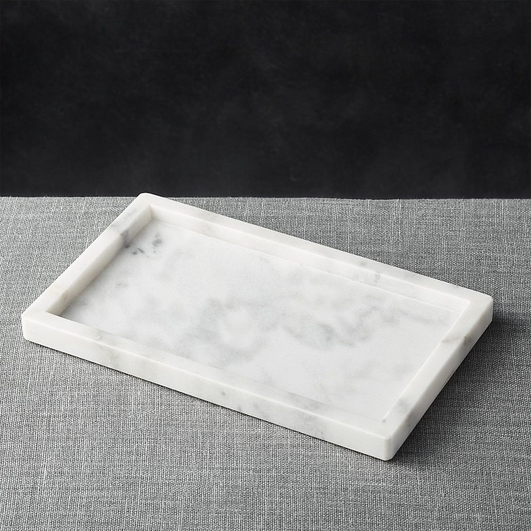 French Kitchen Marble Rectangle Tray | French kitchens, Crates and ...