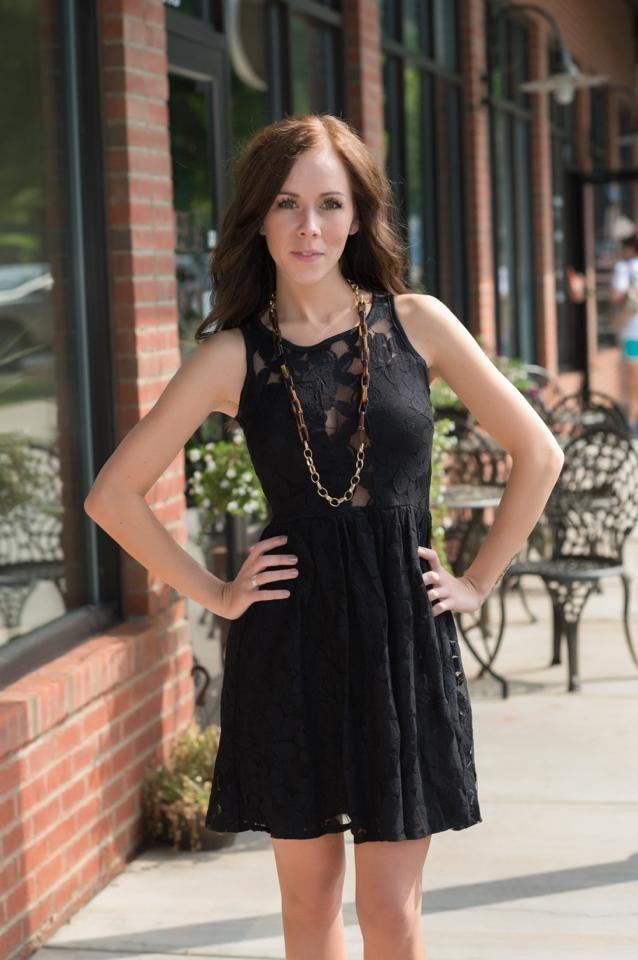 Peek a boo Dress, $44.99