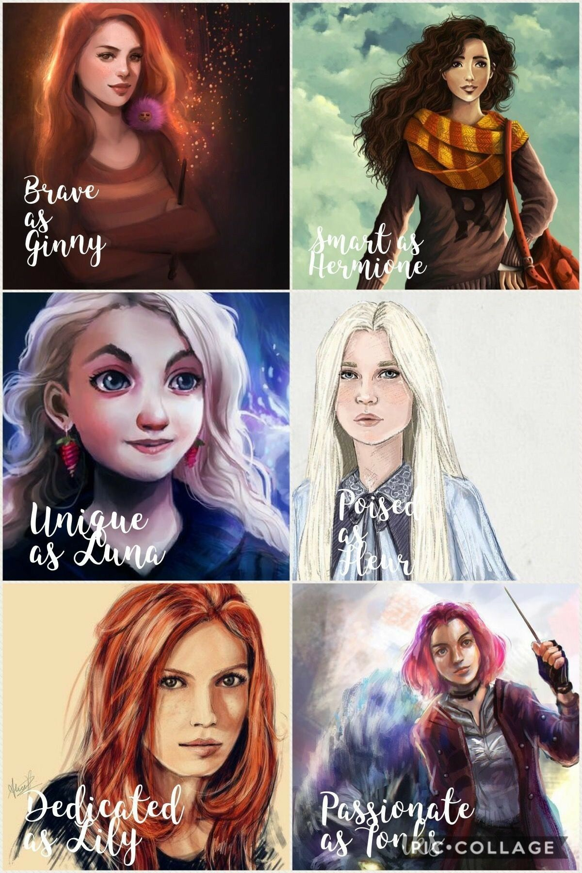 They Re A Lot More Than Just Those One Things But I Love These Characters They Ll All Individua Harry Potter Feels Harry Potter Movies Harry Potter Universal