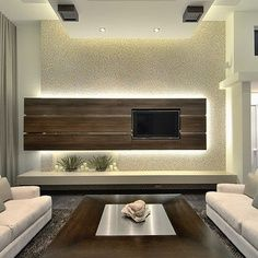 Family Room Wall Tv Units Design Ideas 2nd Option