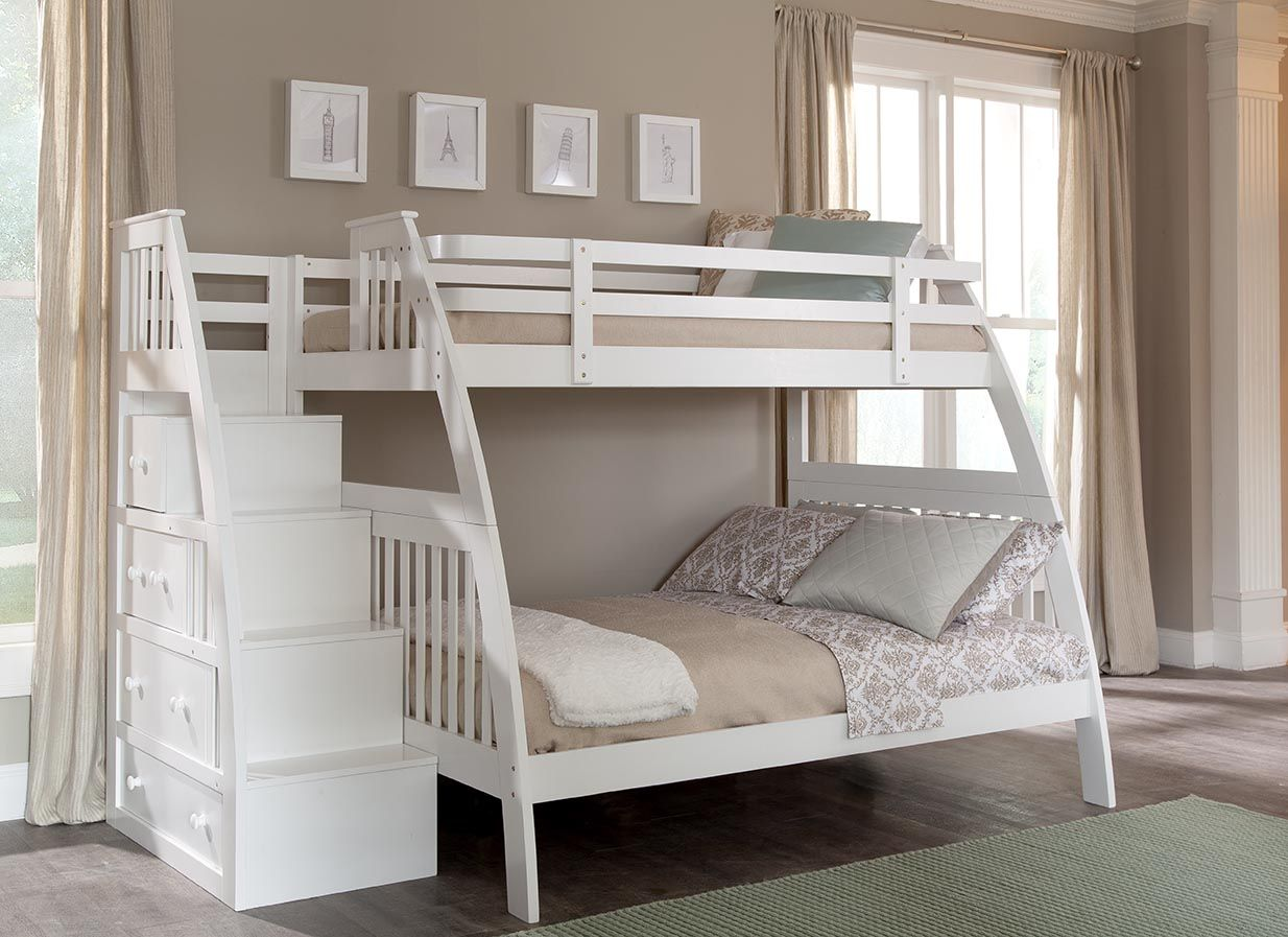 The Canwood Ridgeline Twin over Full BunkBed with built