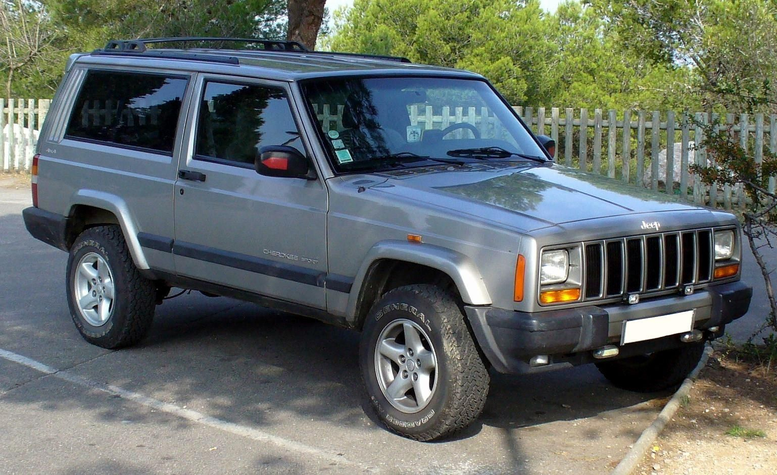 1997 2001 jeep cherokee xj second generation face lifted