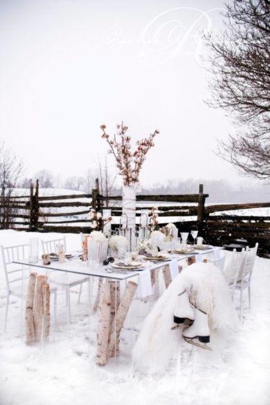 Beautiful winter wedding decor inspiration a wedding pinterest beautiful winter wedding decor inspiration junglespirit Choice Image