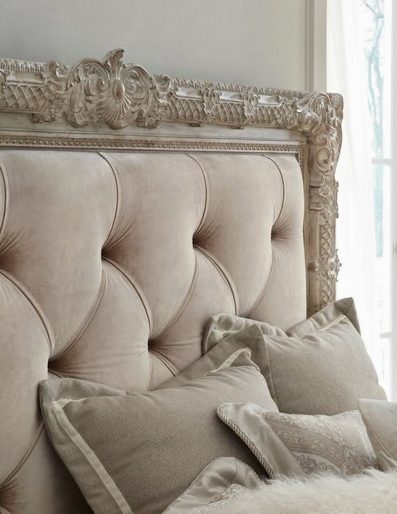 36 Chic And Timeless Tufted Headboards | Cabeceras capitoneadas ...