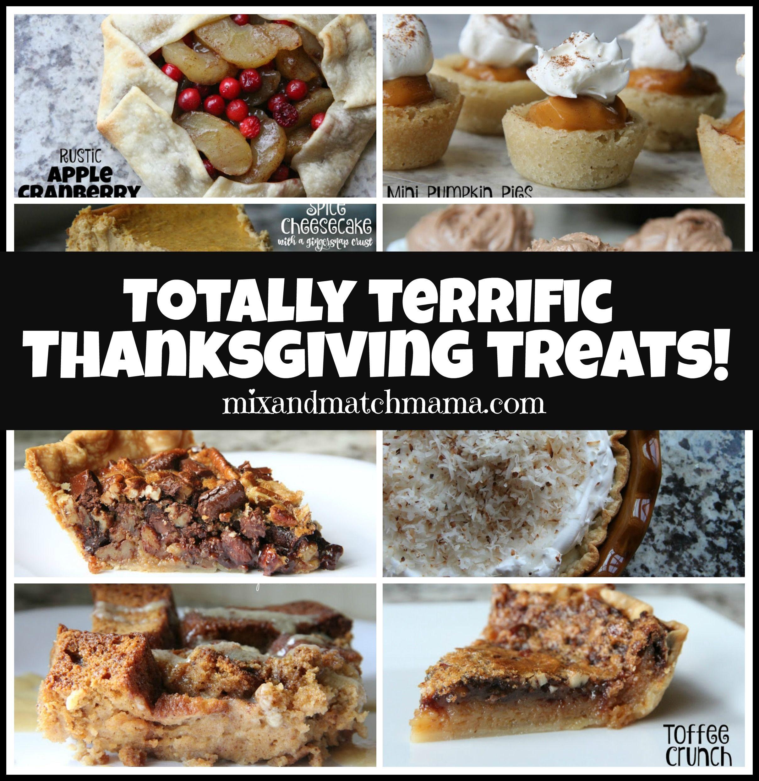 Totally Terrific Thanksgiving Treats Recipe
