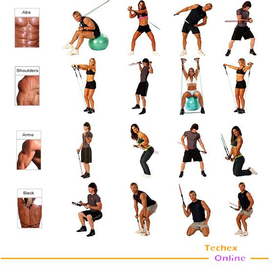image regarding Printable Resistance Bands Exercises referred to as Printable Resistance Band Exercise session Program: A Top At Certainly4All