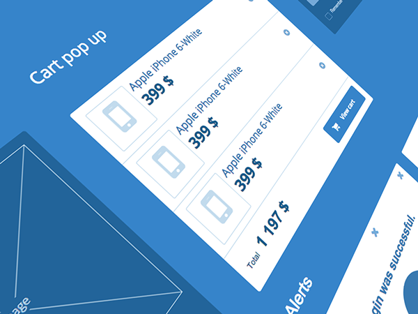 Blueprint ui kit for axure on behance axure template and ui kits blueprint ui kit for axure on behance malvernweather Image collections