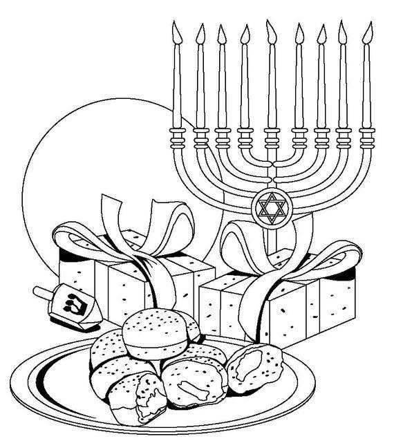 Hanukkah: Star of David Coloring Pages | Chanukah | Pinterest ...