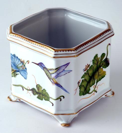 Anna Weatherley Hummingbird Cachepot   Gracious Style