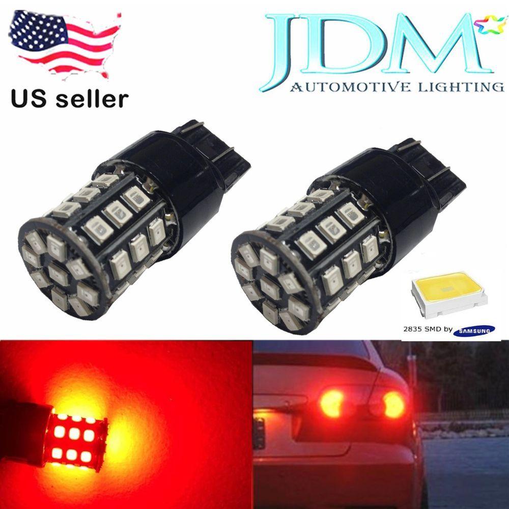Jdm Astar 4x 7443 7440 Led Pure Red Ax2835 Smd Turn Signal Brake Tail Light Bulb Jdmastar Led Bulb Bulb Pure Products
