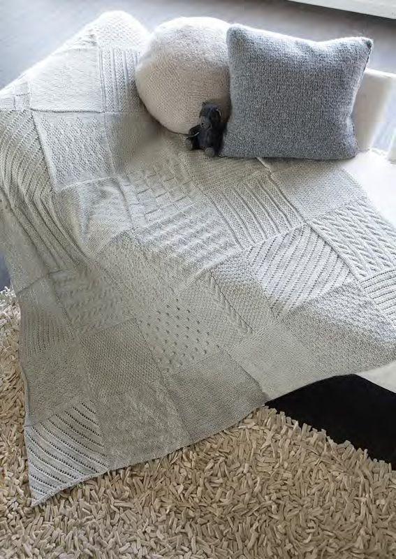 Lana Grossa Decke Inca Filati Handstrick No 42 Home Modell 7