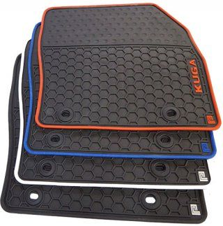 Ford Kuga Rubber Car Mats Fits Years 2008 2012 With 2 Oval Clips Car Mats Ford Kuga Ford