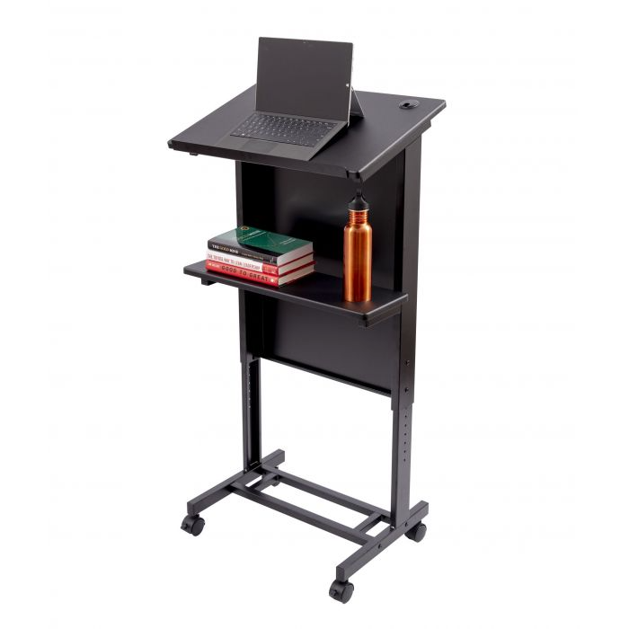 Stand Up Adjustable Height Lectern Podium   Stand Up Desk Store