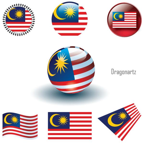 Malaysia Flag Vector Malaysia Flag Flag Vector Vector Art