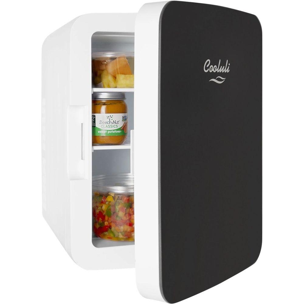 Cooluli infinity 04 cu ft mini fridge black in 2020