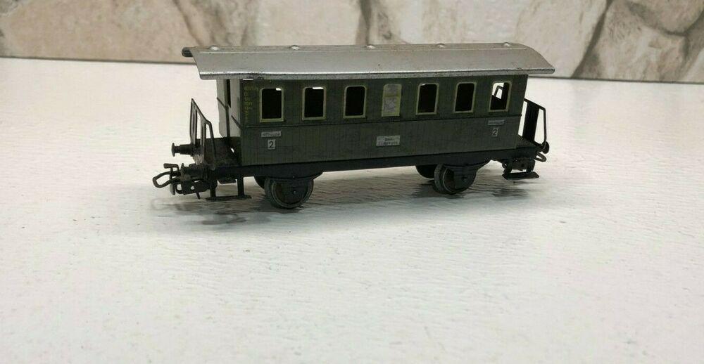 Märklin H0 4040 Personenwagen aus Blech