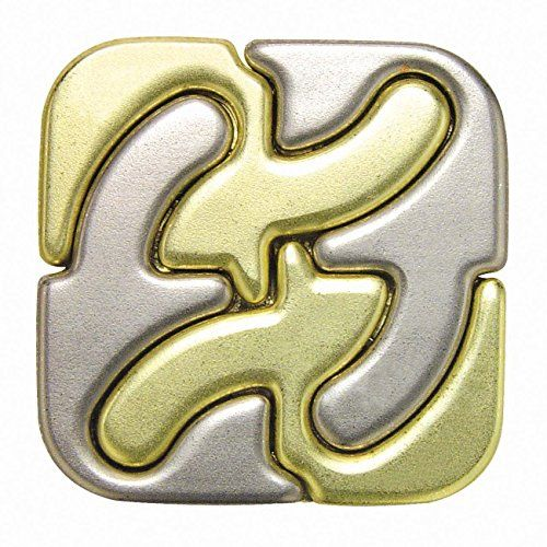 Best price on Hanayama Cast Metal Brainteaser Puzzles - Square Puzzle (Level 6) //   See details here: http://toysfund.com/product/hanayama-cast-metal-brainteaser-puzzles-square-puzzle-level-6/ //  Truly a bargain for the inexpensive Hanayama Cast Metal Brainteaser Puzzles - Square Puzzle (Level 6) //  Check out at this low cost item, read buyers' comments on Hanayama Cast Metal Brainteaser Puzzles - Square Puzzle (Level 6), and buy it online not thinking twice!   Check the price and…