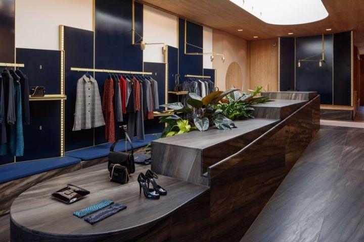 Vanessa Seward store by Laurent Deroo, Los Angeles – California » Retail Design Blog