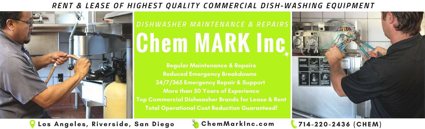 Chem Mark Inc Is The Only Full Service Company In The Industry Offering Amazing Commercial Dishwasher Rental And Commercial Dishwasher Commercial Dishwasher