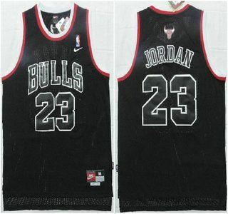 Chicago Bulls Jersey 23 Michael Jordan Revolution 30 Swingman All Black  Jerseys ac9ccb5b2