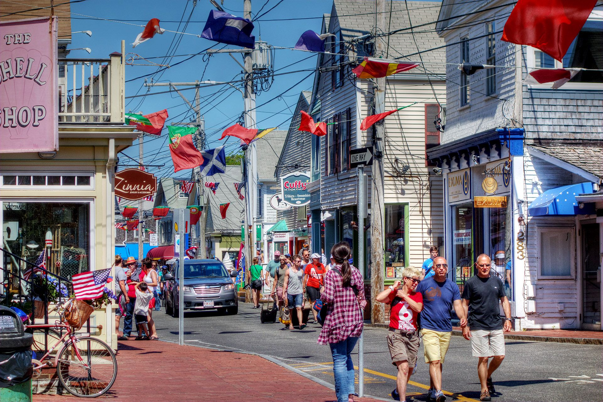 A day in lively provincetown ma commercial street cape
