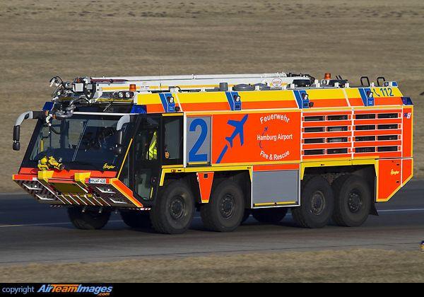Ziegler Fire Truck  Hamburg - International, Germany