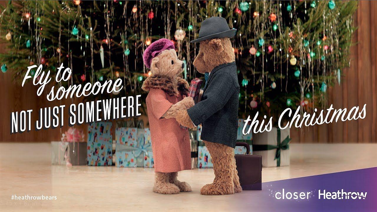 Heathrow Bears Christmas TV Advert - #HeathrowBears - YouTube ...