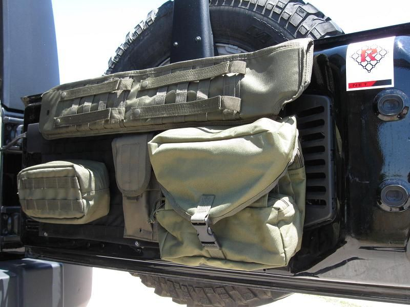 tactical jeeps | Raingler Tactical Tailgate Maximizer for Wranglers