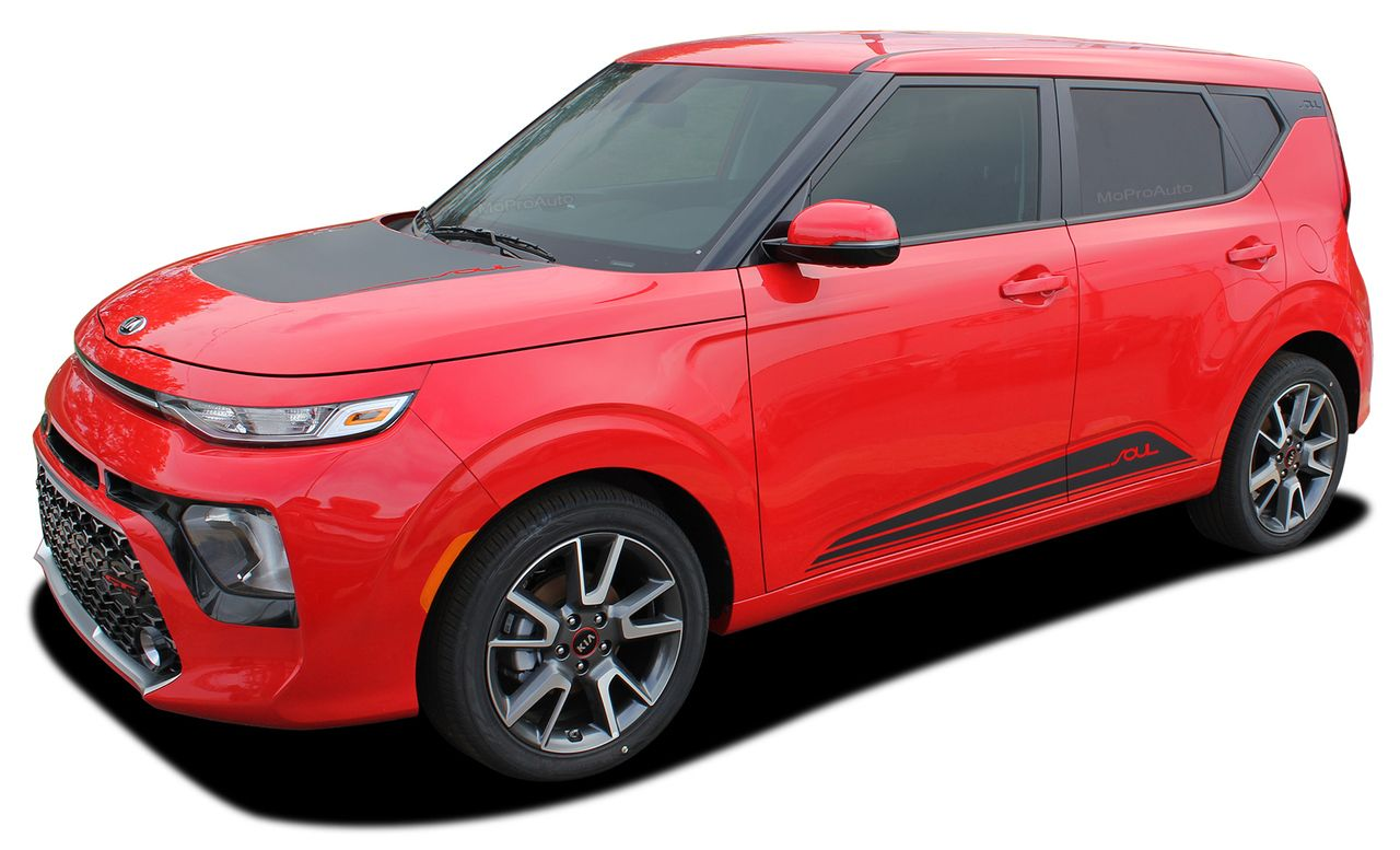 2020 Souled Kia Soul Hood Decals And Lower Rocker Panel Stripes Body Accent Vinyl Graphic Kit Fits 2020 Kia Soul Models Kia Soul Kia Graphic Kit