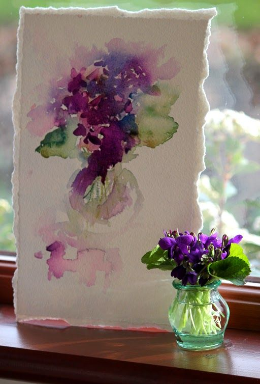 Watercolours With Life March 2014 Flower Art Flower Painting