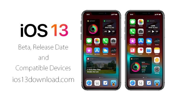 iOS 13 Beta, Release Date and Compatible Devices - iOS 13